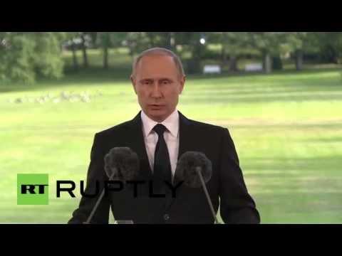 Finland: Putin discusses NATO
