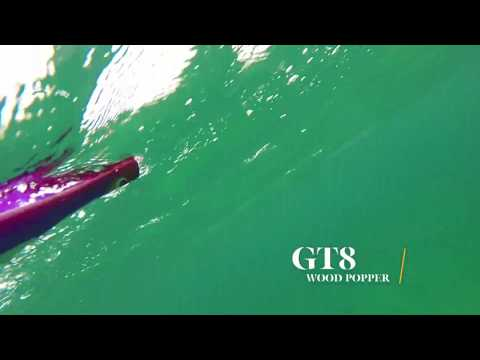 How Lures Swim: GT8 Wood Popper