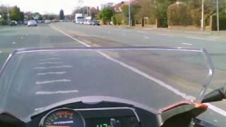 Speed test on Hyosung GT125R