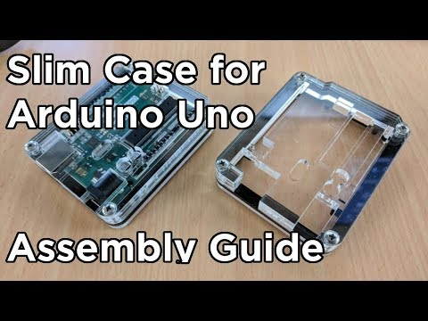 Slim Case For Arduino Uno Assembly Guide