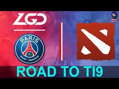 PSG.LGD ROAD TO TI9 (The International 9) Highlights Dota 2 By Time 2 Dota #dota2 #ti9 #psglgd