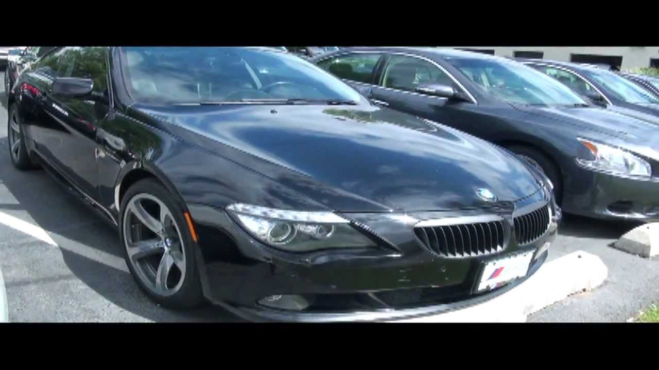 2008 BMW 6 Series 650i 4.8 V8 Coupe - YouTube