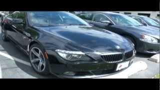 2008 Bmw 6 Series 650i 4 8 V8 Coupe Youtube