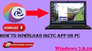 How To Install Irctc App on PC | Uninstall Irctc App On Pc | Irctc App | Windows Xp,7,8,8.1,10 screenshot 1