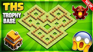 INSANE TOWN HALL 5 (TH5) TROPHY PUSHING/DEFENSIVE BASE DESIGN 2019- Clash Of Clans
