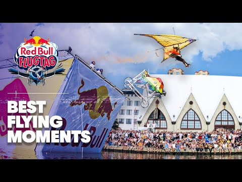 Best Flying Moments From Red Bull Flugtag Sweden