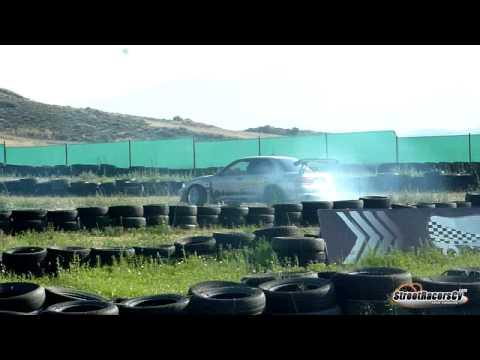 RWD Mitsubishi EVO III - Extreme Drift Show - Daytona Raceway - 03/07/2011 - Cyprus