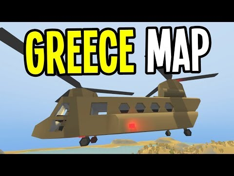 UNTURNED - New GREECE Map! New GUNS and VEHICLES! (Update 3.23.0.0)