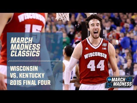 Wisconsin Vs. Kentucky: 2015 Final Four | FULL GAME