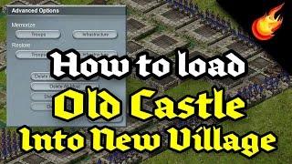 Stronghold Kingdoms - Loading Old Castle into New Village