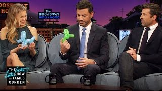 High-Pressure Jobs & Balloon Animals w/ Renée Zellweger, Patrick Dempsey & Jimmy Kimmel