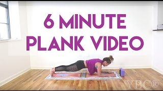 6 Minute Plank Video for Core Strength
