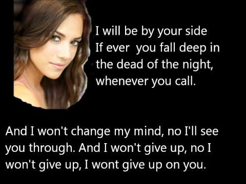 Jana Kramer - I Won't Give Up Lyrics