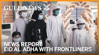 UAE Ministry of Health & Prevention celebrates Eid Al Adha with frontliners and their children