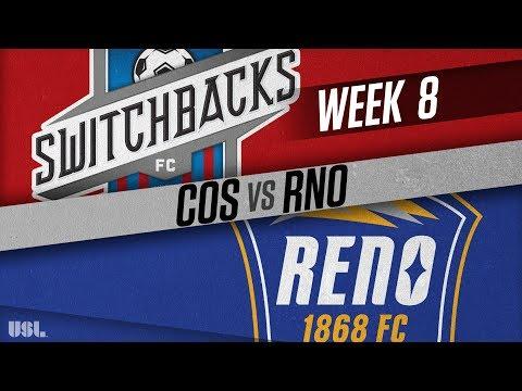 Colorado Springs Switchbacks FC vs Reno 1868 FC