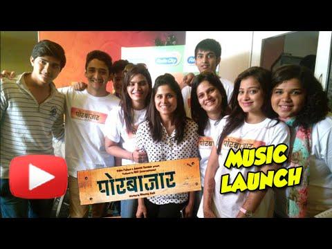 Por Bazaar - Music Launch Uncut - Sai Tamhankar, Ankush Choudhary - Marathi Movie