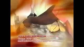 chapati making machine by leela dhevi engineering coimbatore