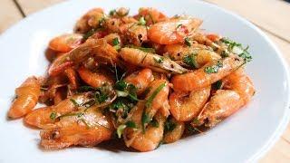 Con Tôm - Tôm Chiên - Cách Rang Tôm Ngon- shrimp | Huyen Cooking