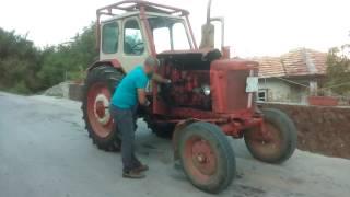 Arankar traktor palene na ymz puskovo ystroistvo
