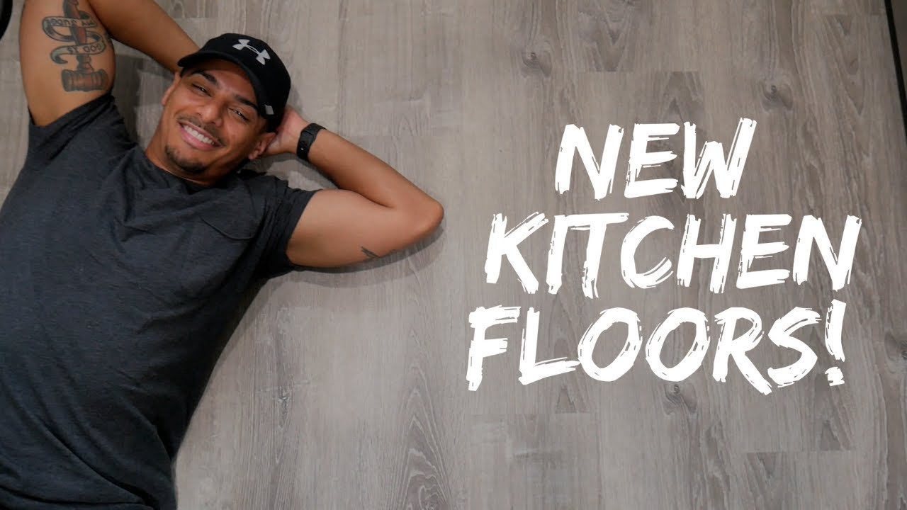 Upgrading our Kitchen Floors!