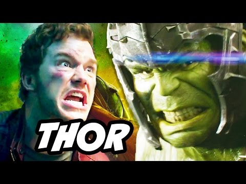 Thor Ragnarok Guardians Of The Galaxy 2 Crossover Scenes Explained