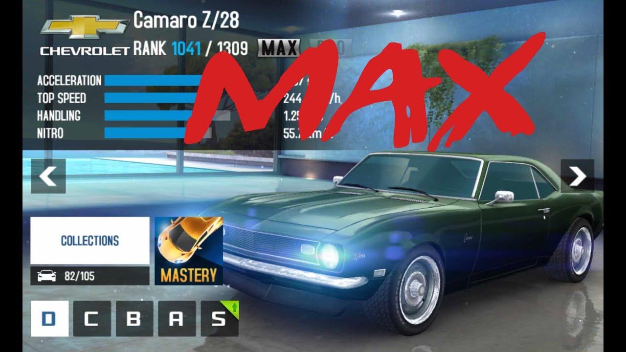 Asphalt 8 Camaro Z28 To Max Youtube