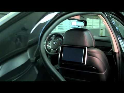 BMW 7 series F01/02 - полный ролик для Цезарь Сателлит