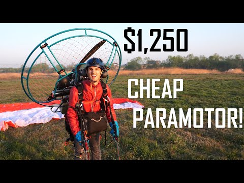 $1,250 For This Paramotor! Flying Can Be Cheap
