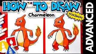 How To Draw Charmeleon Pokmon - Advanced