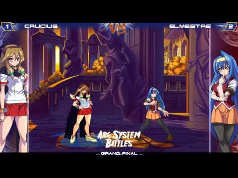 Arc System Battles [30-03-2013] - AH3 - Grand Final - Crucius [Akane] vs Elmestre [Saki]