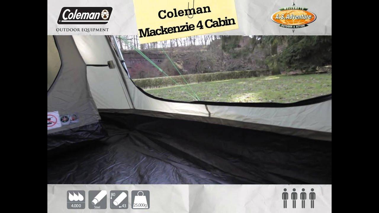 Coleman - Mackenzie Cabin 4 -- NL & Coleman - Mackenzie Cabin 4 -- NL - YouTube