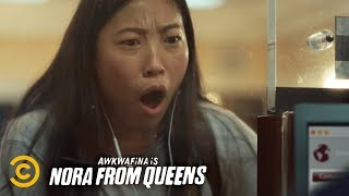 What Do You Do When Your Bank Declares You Dead? - Awkwafina is Nora from Queens