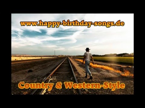 Happy Birthday Songs - Country & Western-Style