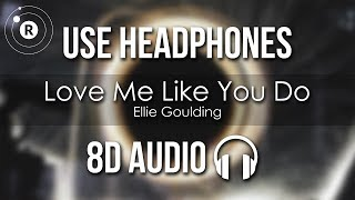Gambar cover Ellie Goulding - Love Me Like You Do (8D AUDIO)