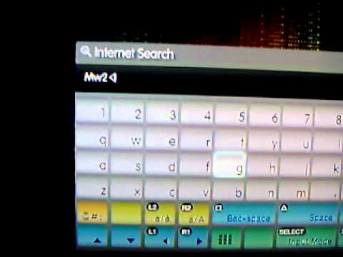 How can i delete my search history for playstation 3?