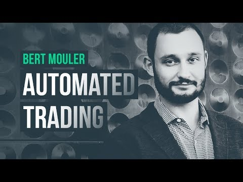 Algo trader using automation to bypass human flaws · Bert Mouler