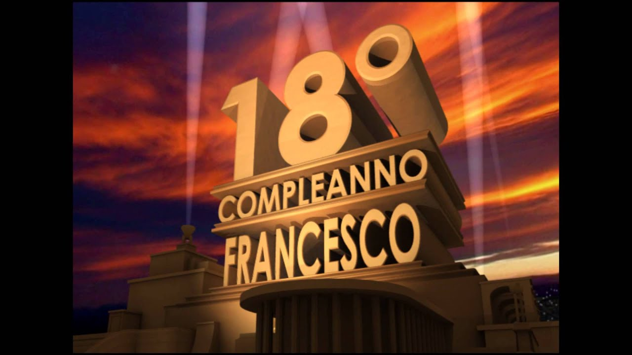 Intro 20th Century Fox Per Video 18 Anni