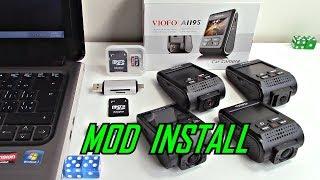 How to Install Modified Firmware Viofo Dash Cam