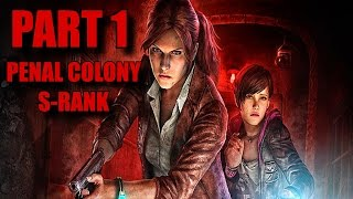 Resident Evil Revelations 2 Walkthrough Part 1 - Claire Redfield S-Rank/All Collectibles Episode 1