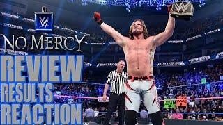 WWE No Mercy Review | Did Ziggler Retire?