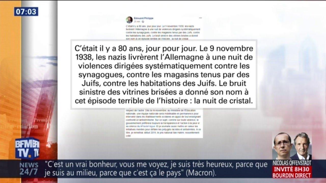 +69%: Édouard Philippe alerte sur la très forte hausse des actes antisémites en France cette année