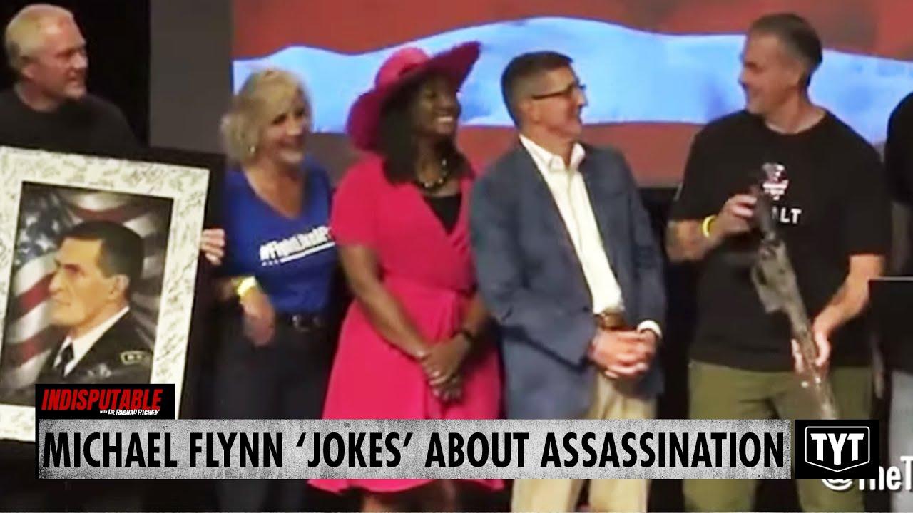 Michael Flynn 'Jokes' About Assassination Threat