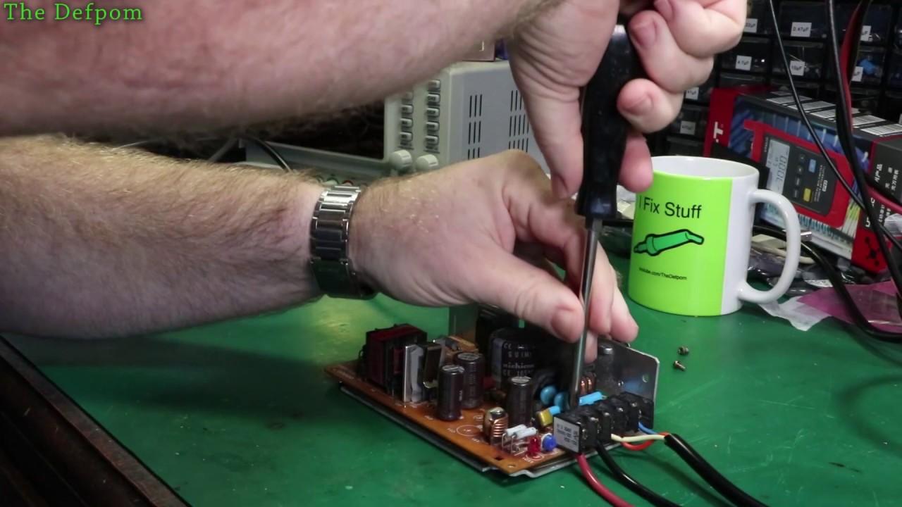 #709 Omron 24V Industrial Power Supply Repair S82J-2524