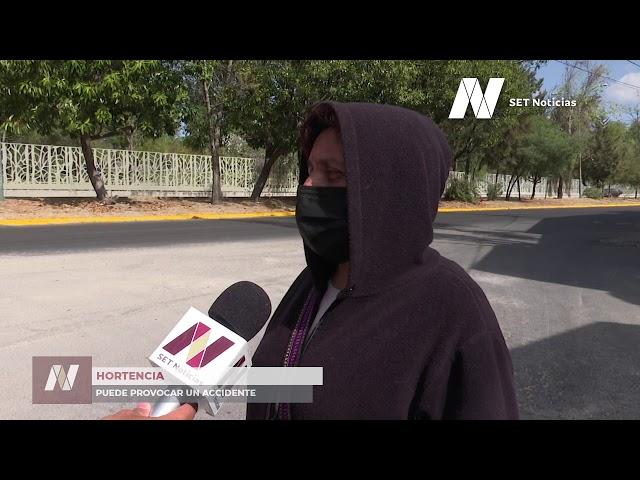 Advierten sobre riesgos por zanjas en la Colonia Miguel Negrete