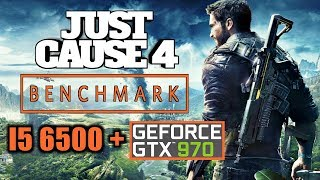 JUST CAUSE 4 | PC Performance Benchmark | GTX 970 | i5 6500 | Ultra Settings 1080p