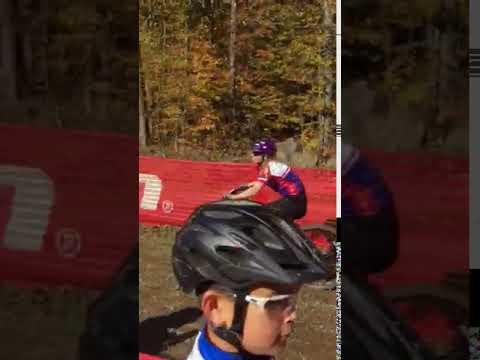 Katie at Hayward race