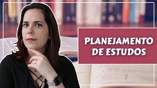 PLANEJAMENTO DE ESTUDOS com Ana Paula Paltian