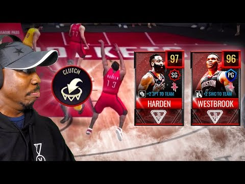 ONE MISSION HARDEN & WESTBROOK GAMEPLAY! NBA Live Mobile 20 Season 4 Pack Opening Ep. 28