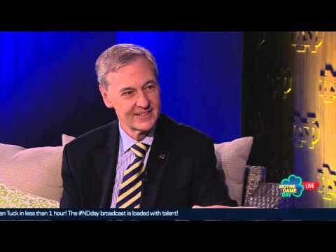 John Affleck Graves Interview   Notre Dame Day 2016