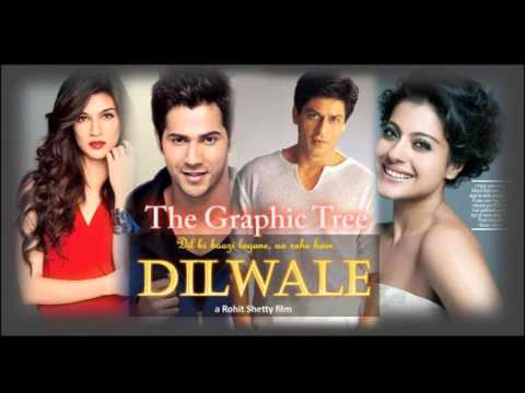 Dilwale 2015 all mix songs